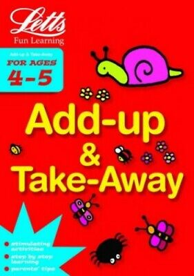 Add Up and Take Away Age 4-5 (Letts Fun Learning) by Various Paperback Book The
