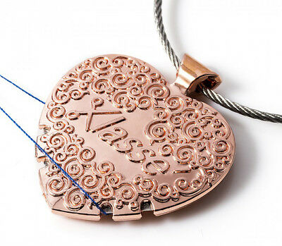 KLASSE Thread Cutter Pendant - Rose Gold Finish - Great for Travel - Yarn
