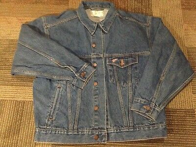 RED WING Men's Blue Denim Riders Jacket Size Large