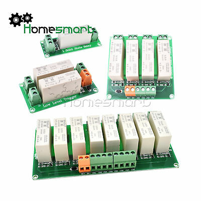1/2/4/8 Kanal SSR Solid State Relay Low Trigger 5A 0-2V DC-DC for Arduino