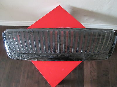 """2002-2005 Ford Explorer Grille """"Vertical ABS Gloss Black"""" NEW !"""