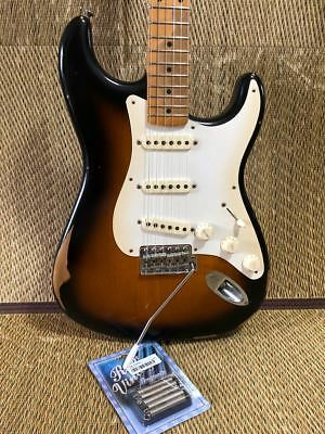 FENDER MEXICO ROAD Worn 50s Stratocaster beutiful JAPAN rare useful EMS F/S*