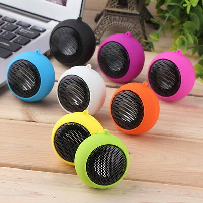 Portable Mini Hamburger Speaker Amplifier For iPod iPad Laptop iPhone Tablet PC