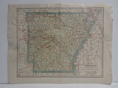 Lot of 10 Old Maps @1900