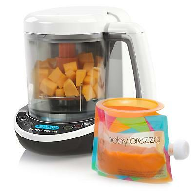 Baby Brezza BPA-Free One Step Steamer Blender Small Food Maker Deluxe Set