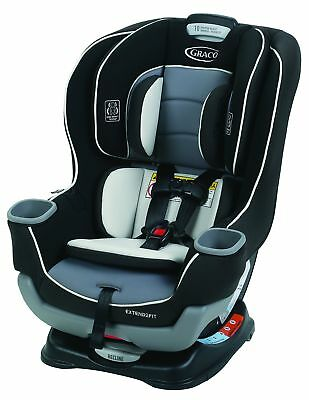 Graco Extend2Fit Convertible Car Seat, Gotham, One Size.