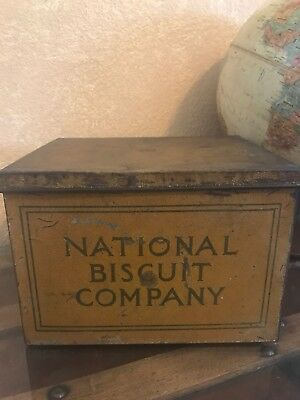 Vintage National Biscuit Company Tin