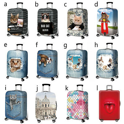 "Elastic Luggage Suitcase Cover 18-32"" Protective Bag Dustproof Case Protector"