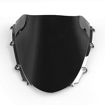 Windshield WindScreen Double Bubble Honda CBR 1000RR 2004-2007 05 06 Black AU