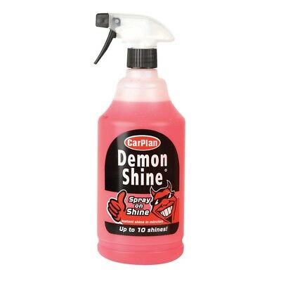 1L Demon Spray On Shine 1 Litre Concentrated Wax Polish Car Care Carplan CDS101