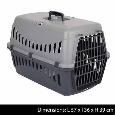 Large Pet Carrier Carry Basket Puppy Dog Cat Kitten Rabbit Travel Cage Crate New