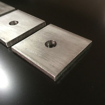 THICK SQUARE PLATE WASHERS STAINLESS STEEL Marine Grade VARIOUS SIZE OPTIONS