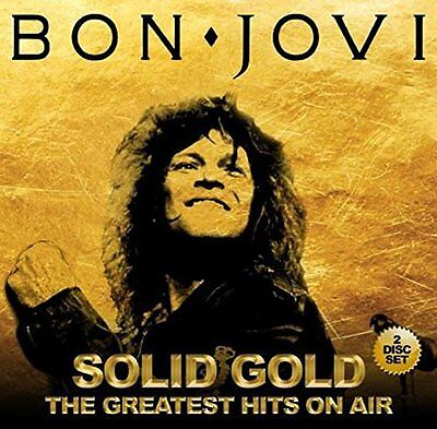 BON JOVI Solid Gold - The Greatest Hits on Air 2CD Live Radio Broadcast NEW .cp
