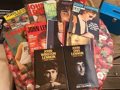 Job Lot John Lennon Of The Beatles Magazines Books Posters