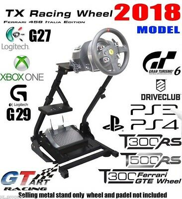GT ART Racing Simulator Steering Wheel Stand for G27 G29 PS4 G920 T300RS PICK UP
