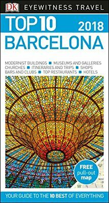 Top 10 Barcelona (DK Eyewitness Travel Guide) by DK Travel Book The Cheap Fast