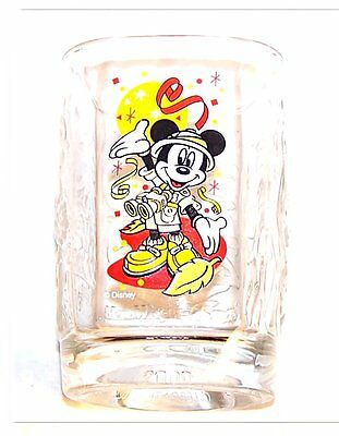 Vintage McDonalds 2000 Disney Mickey Mouse Glass Ex Gift Card Toy Meal Happy Ofr