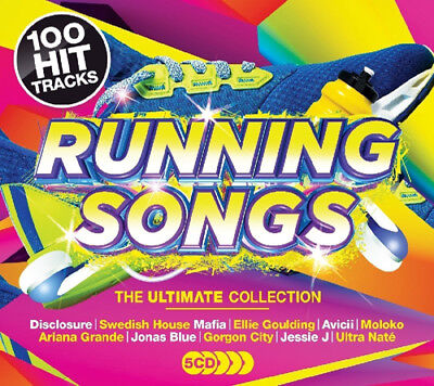 Various Artists : Running Songs: The Ultimate Collection CD Box Set 5 discs