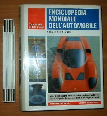 Georgano, Enciclopedia mondiale dell'Automobile, 1970 (4000 MARCHE)