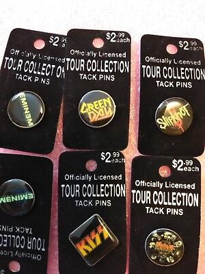Tour Collection Tack Pins Lot Of 6