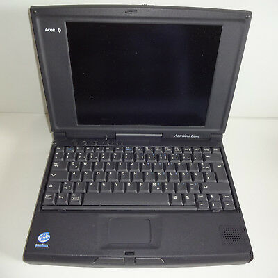 Acer 350PC Notebook vintage