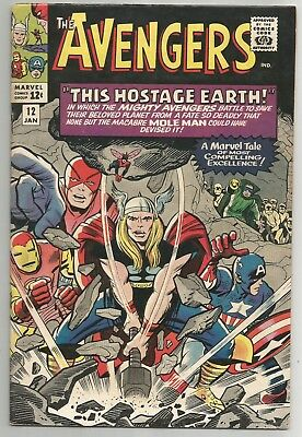 Avengers # 12 - Silver Age beauty! 6.5-7.5 est grade - lovely copy!