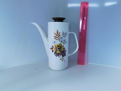 Retro / Vintage J & G Meakin Studio Eden  Coffee Pot .