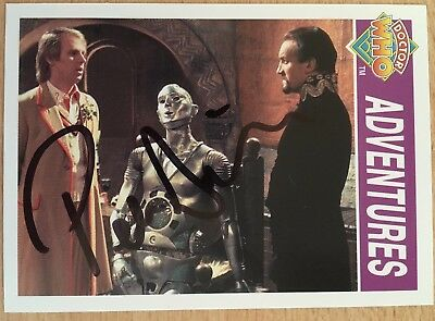 Dr Doctor Who Cornerstone Trading Card Signed by Peter Davison - Autograph