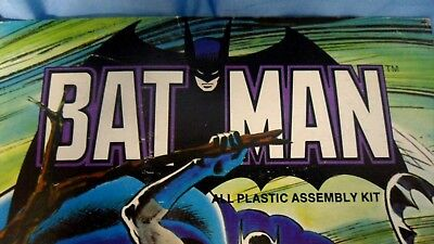 "Aurora ""Comic Scenes"" BATMAN....BOX ONLY !  (1974)"