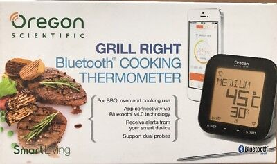 Oregon Scientific Aw133 Grill Right Bluetooth Cooking Thermometer Grigliata Bbq