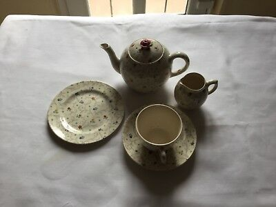 Tea set for one made in England