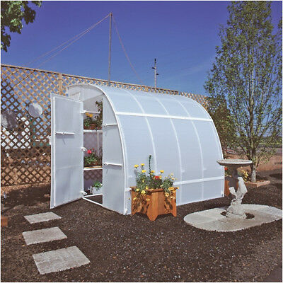 Solexx Harvester 8 Ft. W x 16 Ft. D Lean-To Greenhouse
