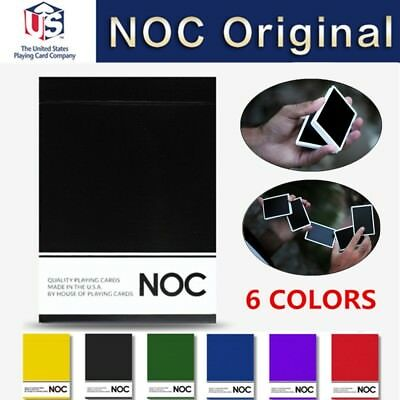NOC Original Series Playing Cards 6 Colors Marked Magic Poker Printed by USPCC