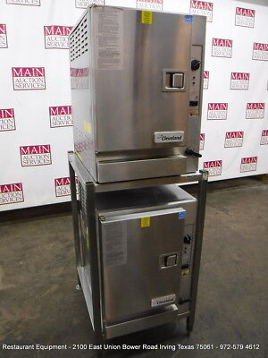 Cleveland 22CGT6.1 Gas Steamer Double Stack Steamer Oven Year 2013