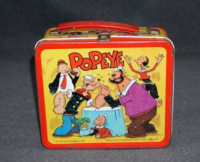 Vintage Popeye Lunch Box