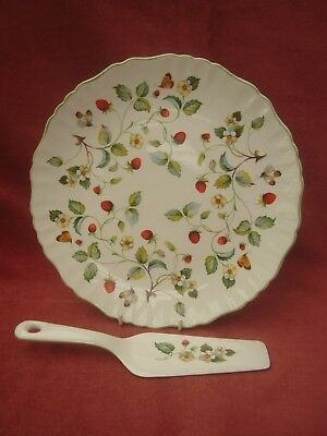 Old Foley Tart Plate and Server