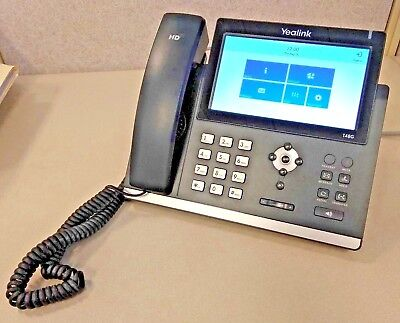 YEALINK SIP-T48G T48G Skype IP Office Telephone PoE TESTED! FREE SHIPPING!