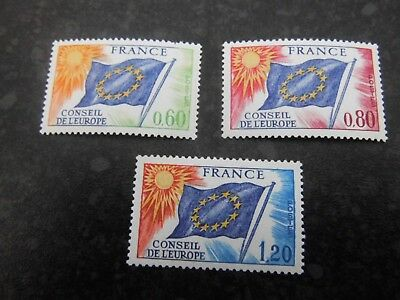 Unmoubted Mint FRANCE French stamps Consiel de L'Europe Catalogued £10.00+