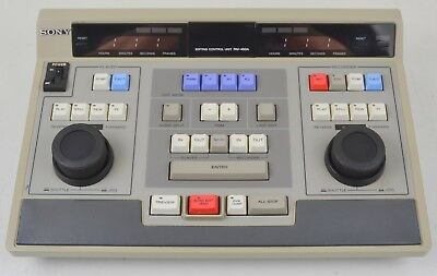 Sony Editor Controller Unit RM-450A Power Tested