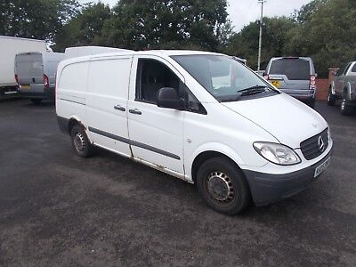 2005 mercedes vito lwb 109 cdi runs drives well no mot px to clear export spares