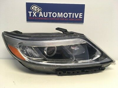 2014-2015 Kia Sorento Right Passenger RH OEM Halogen Headlight w/ LED J183