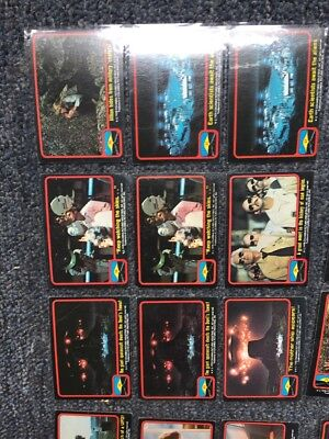 Close Encounters Topps 1978 Trading Cards
