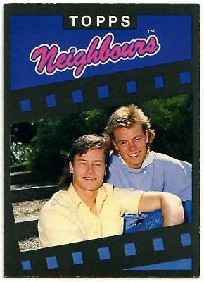 C1442 Where Would Ramsey St Be..#29 Neighbours Series 1 Topps 1988 Trade Card