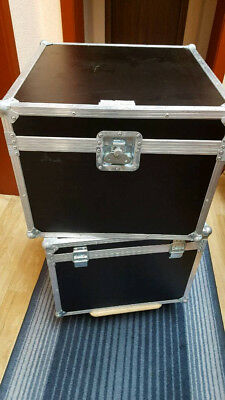 ROADINGER Transport-Flight-Case 4x PAR-64 Spot kurz, Scheinwerfer-Koffer