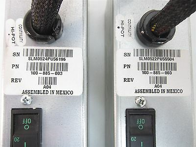 Lot Of 2 Simclar Power Strips 100-885-003 12-Port Power Distribution Units