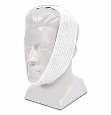 Deluxe Chin Strap, Premium White CPAP Chin Strap, AG302425 - Each