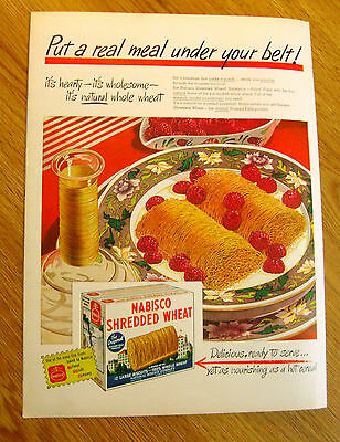 1946 Nabisco Shredded Wheat Cereal Ad