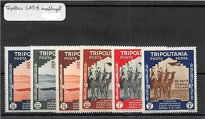 Lot of 14 Tripolitania (Libya) MH Mint Hinged Air Mail Stamps #110329 X R