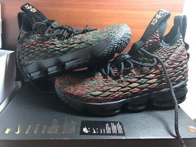 9e75d6be9ee Nike LeBron 15  BHM  XV 2018 Multicolor Black History Month 897650-900 Size