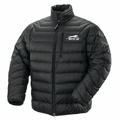 New Arctic Cat Men's Windproof Nylon Aircat Down Coat - Black - 2XL - # 5260-918